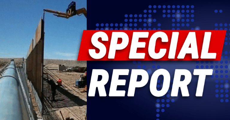 Men Recorded 'Jumping' Trump's New Border Wall – Let's Just Say It Didn't End Well
