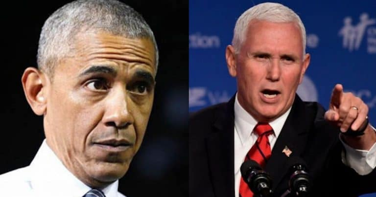 After Obama Takes Credit For Booming Economy, VP Pence Sets The Record Straight