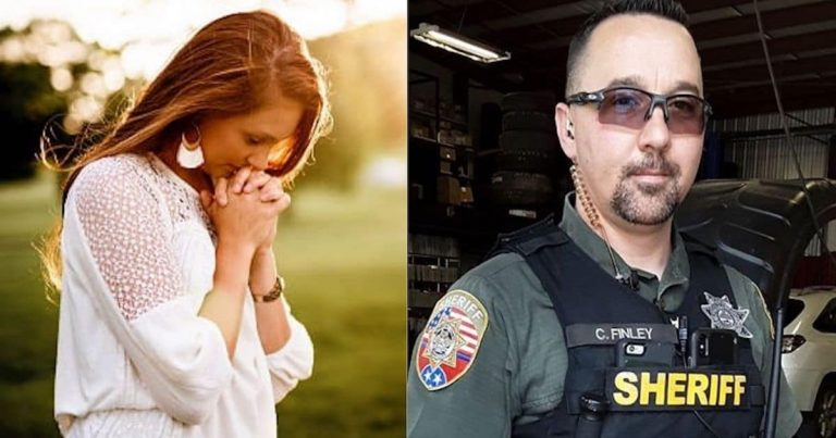 Stranded Mom Prays For Help – Then A Deputy Answers Her Prayer In The Most Unexpected Way