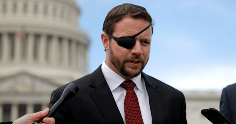 Dan Crenshaw Has A 'Destination' For Any American Offended By Our Revolutionary Flag
