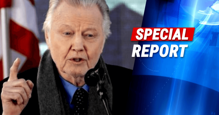 Jon Voight Stands Up To Socialism On July 4th, Stands With The Families Of America's Fallen Heroes