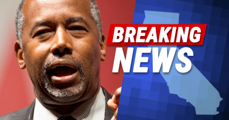 After California Begs Carson For More Money – Ben Drops His Hefty HUD Hammer