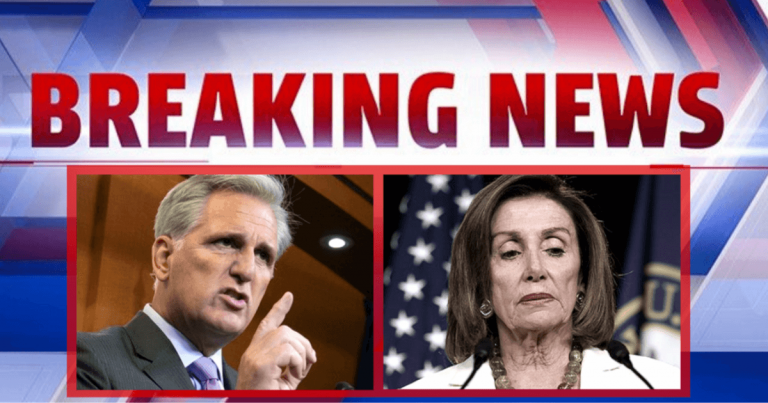 House Leader McCarthy Defies Pelosi – Demands Nancy's 'Reckless' Impeachment Hunt Suspended