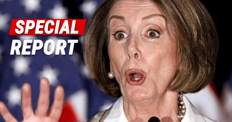 Moments After Pelosi's Speech Stunt – Democrats Call To Tell Her They Will Never Vote For Her Party Again