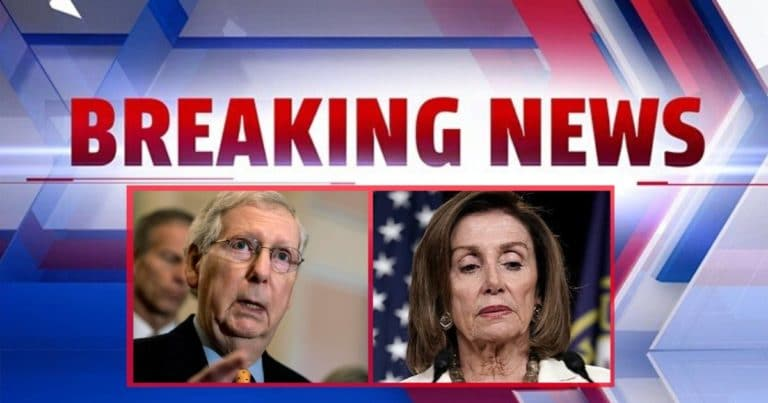 After Pelosi Caves On Impeachment – McConnell Tells Her It's Too Late By Supporting Dismissal