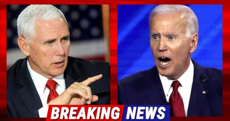Mike Pence Takes Down Biden For Unconstitutional Action – He Just Demanded Freedom Over The President's Tyranny