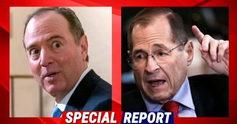 "Democrats Just Fell Apart On Senate Floor – Video Catches Nadler Stealing Schiff's Podium, And Adam Could Only Say ""Jerry, Jerry, Jerry"""