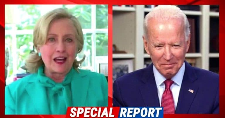 After Hillary Pulls Back Curtain On Joe Biden – Clinton Turns On Him Over Withdrawal From Afghanistan