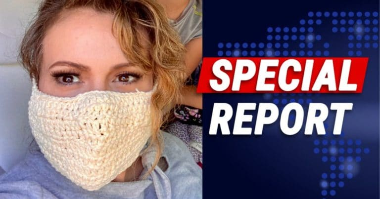Alyssa Milano Shows Off Crocheted Facemask – Hours Later, Social Media Pokes Holes In Her Elitist Selfie