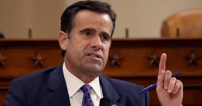 John Ratcliffe Goes After Swamp Leakers – Trump's DNI Has Filed Multiple 'Crimes Reports' To Shut It Down