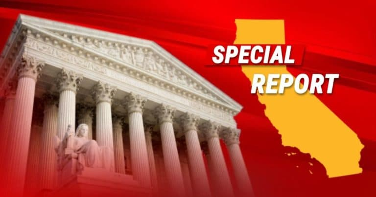 Supreme Court Hands California Major Loss – They Just Protected The First Amendment For The Church Temporarily