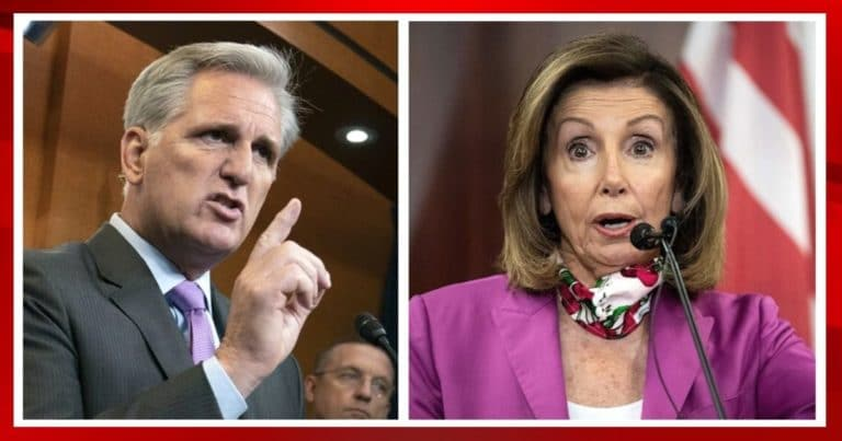 McCarthy Drops Impeachment Warning On Pelosi – If You Go After Trump Again, I'll Get You Removed As Speaker
