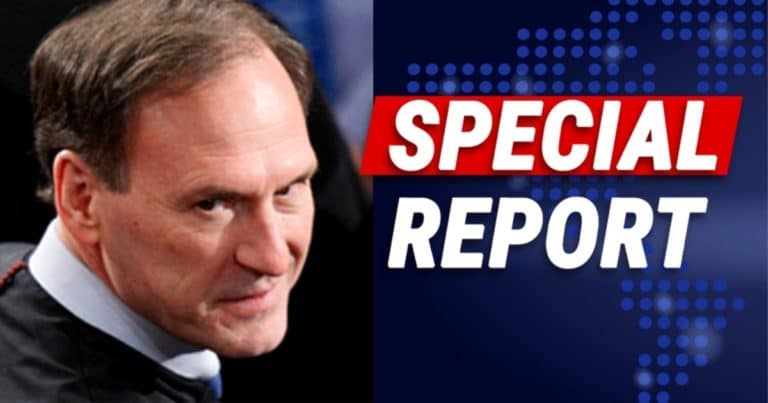 Supreme Court Justice Alito Goes After Democrats – He Just Warned Constitution's 1st Amendment Is In Trouble