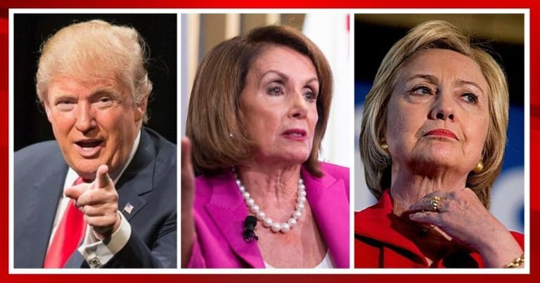 "President Trump Just Triggered Pelosi And Hillary – Nancy Is Overheard On Conference Call Saying Donald's A ""Psychopathic Nut"""
