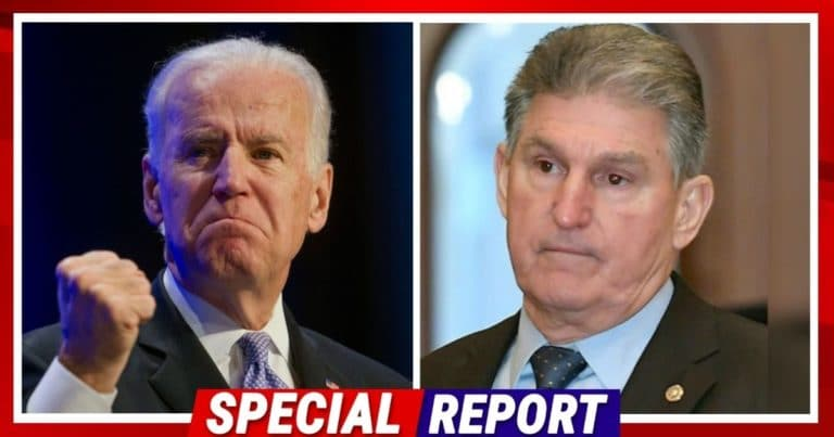 Joe Manchin Dashes President Biden's Hopes – He Claims 6 Or 7 Democrats Refuse To Pass Joe's Infrastructure Bill
