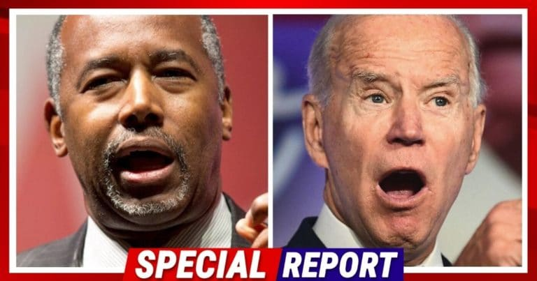 Ben Carson Goes After Joe Biden – Accuses The President Of Putting Migrants Ahead Of America's Homeless