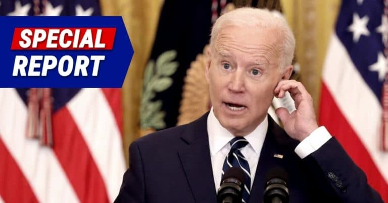 President Biden Loses It On Live TV – In Front Of Amtrak Train, Joe Can't Remember Obama Train Story