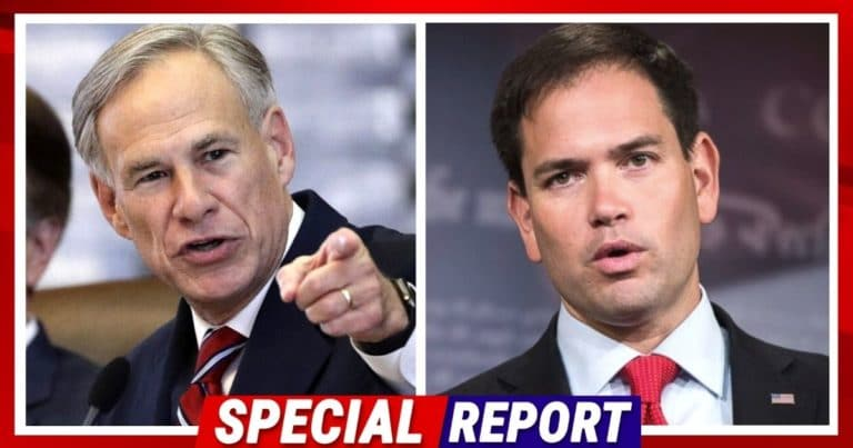 Texas Governor And Rubio Team Up Against MLB – To Make Them Pay, Abbott Refuses To Throw First Pitch