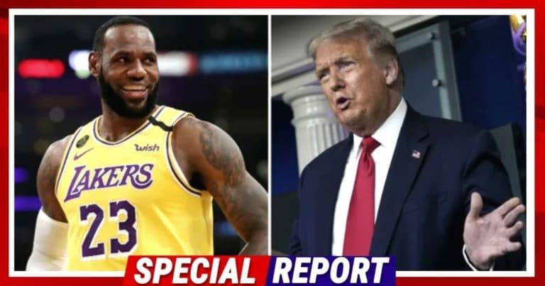 Donald Trump Dunks On NBA's LeBron James – The Former President Orders King James To Focus On Basketball