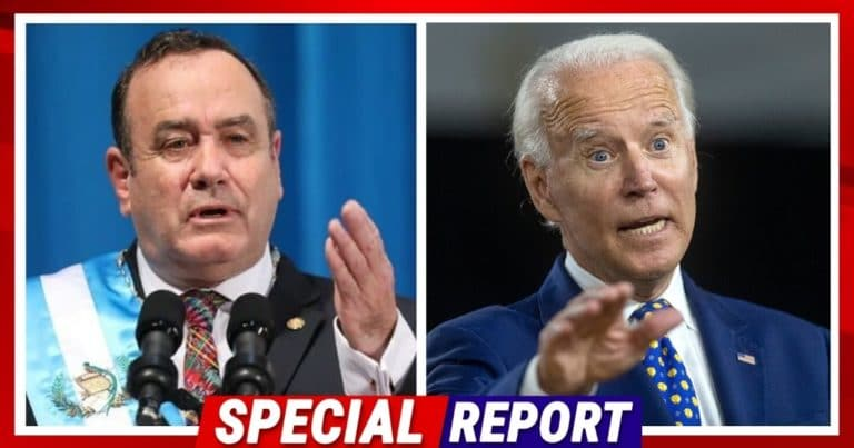 After Biden Blames Trump For Border Problems – Guatemalan President Says The President Is To Blame