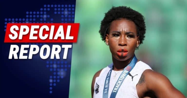 After Olympian Gwen Berry Protests Our National Anthem – She Fails Miserably And Places 11th Out Of 12 People